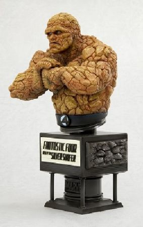 Fantastic Four Rise Of The Silver Surfer: Thing Fine Art Bust