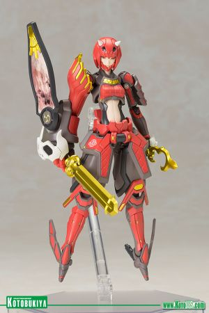 PHANTASY STAR ONLINE 2 VERMILLION GUARDIAN SHIKI PLASTIC MODEL KIT