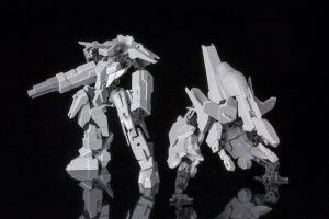 FRAME ARMS KOBOLD+STRAUSS ARMOR SET:RE PLASTIC MODEL KIT