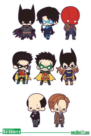 Rubber Charm Collection Batman Family DX (KOTO US EXCLUSIVE)