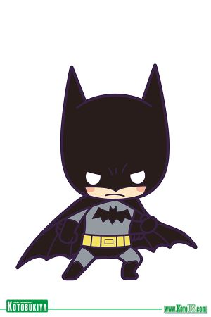 DC COMICS BATMAN DEBUT RUBBER STRAP CHARM - BATMAN [SINGLE]
