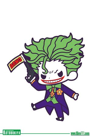 DC COMICS BATMAN DEBUT RUBBER STRAP CHARM - JOKER [SINGLE]