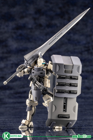 HEXA GEAR GOVERNOR ARMOR TYPE: KNIGHT 【【 BIANCO 】】 MODEL KIT
