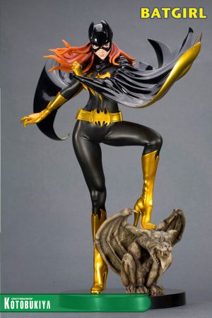 DC COMICS BATGIRL BLACK COSTUME BISHOUJO STATUE