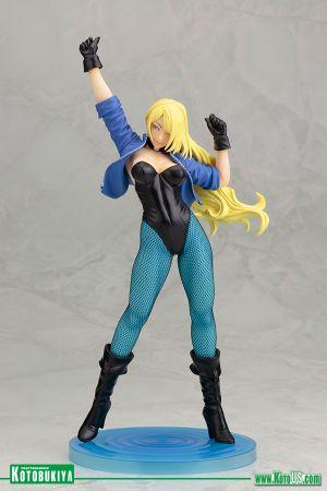 Black Canary Exclusive Retro Color Way Bishoujo Statue