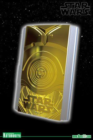 STAR WARS C-3PO BUSINESS CARD HOLDER