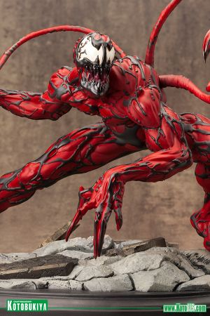 MARVEL COMICS  MAXIMUM CARNAGE  FINE ART STATUE