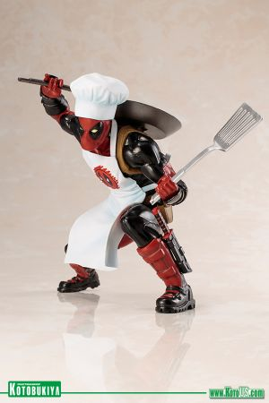 MARVEL UNIVERSE COOKING DEADPOOL ARTFX+