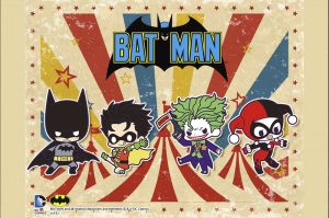 DC COMICS BATMAN - KAWAII SERIES - RUBBER CHARM SET