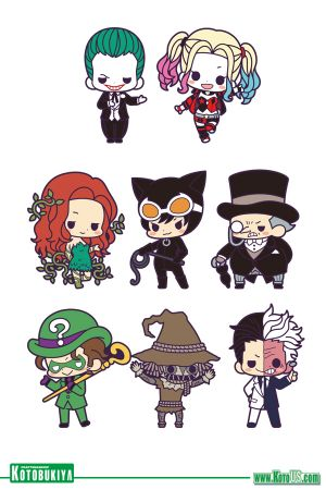 Rubber Charm Collection Batman Villains DX (KOTO US EXCLUSIVE)