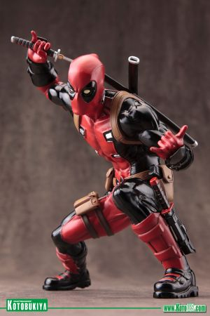MARVEL COMICS DEADPOOL MARVEL NOW! ARTFX+ STATUE