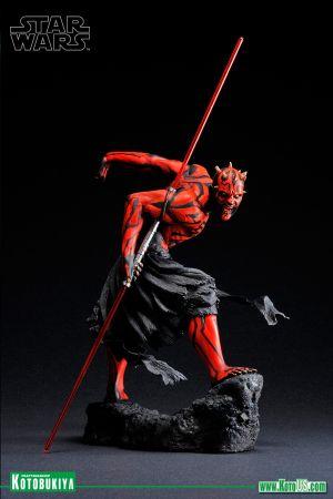 STAR WARS DARTH MAUL JAPANESE UKIYO-E STYLE ARTFX STATUE - RE RELEASE (2020)