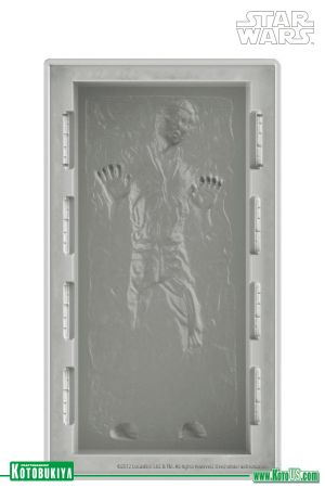 STAR WARS HAN SOLO IN CARBONITE DX SILICONE ICE TRAY