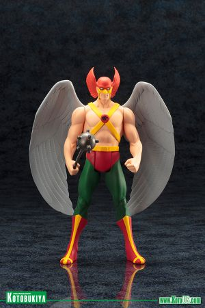 DC UNIVERSE HAWKMAN SUPER POWERS ARTFX+ STATUE