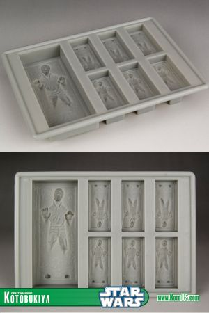 STAR WARS HAN SOLO IN CARBONITE SILICONE TRAY
