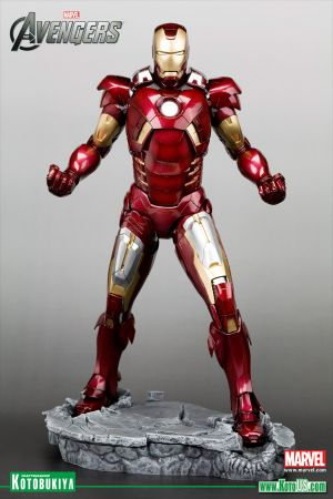 THE AVENGERS MOVIE IRON MAN MARK VII ARTFX STATUE