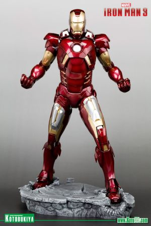 IRON MAN 3 MOVIE IRON MAN MARK VII ARTFX STATUE