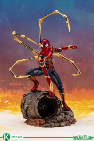 INFINITY  WAR  IRON  SPIDER  ARTFX+