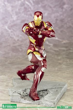 CAPTAIN AMERICA: CIVIL WAR MOVIE IRON MAN MARK 46 ARTFX+
