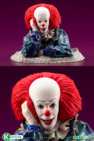 IT PENNYWISE FROM IT 1990 ARTFX STATUE