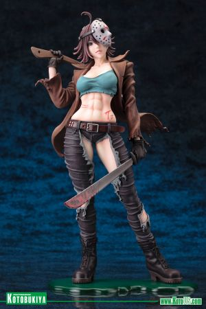 FREDDY VS. JASON ~ JASON VOORHEES BISHOUJO STATUE 2ND EDITION