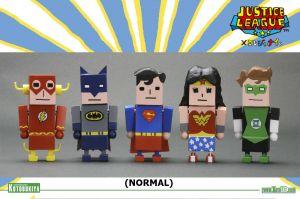 DC COMICS JUSTICE LEAGUE X KOREJANAI MINI-FIGURES