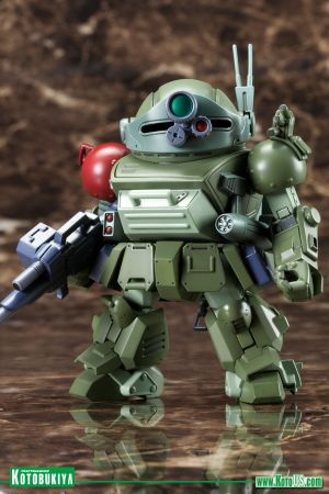 ARMORED TROOPER VOTOMS SCOPEDOG TURBO CUSTOM D-STYLE PLASTIC MODEL KIT