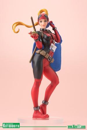 SDCC EXCLUSIVE LADY DEADPOOL BISHOUJO STATUE