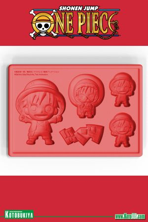 ONE PIECE LUFFY NEW WORLD VER. SILICONE ICE TRAY