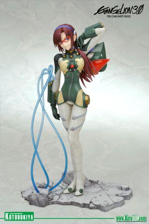 EVANGELION 3.0 YOU CAN(NOT) REDO MARI ILLUSTRIOUS MAKINAMI -PLUG SUIT STYLE- ANI*STATUE