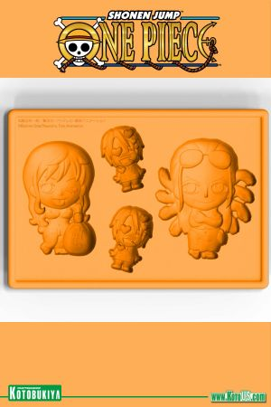 ONE PIECE NAMI & ROBIN WITH SANJI NEW WORLD VER. SILICONE ICE TRAY