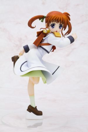 MAGICAL GIRL LYRICAL NANOHA THE MOVIE 1ST NANOHA TAKAMACHI SCHOOL UNIFORM  ANI STATUE