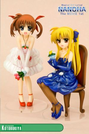 MAGICAL GIRL LYRICAL NANOHA THE MOVIE 1ST ~ NANOHA & FATE -DRESS VER- ANI*STATUE