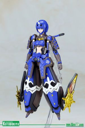 PHANTASY STAR ONLINE 2 INDIGO GUARDIAN SHIKI PLASTIC MODEL KIT