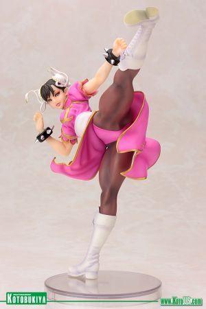 Street Fighter Chun-Li Pink Outfit Limited Vers. Bishoujo Statue