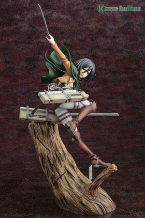 ATTACK ON TITAN ARTFX J MIKASA ACKERMAN RENEWAL PACKAGE VER.