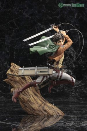 ATTACK ON TITAN ARTFX J EREN YEAGER RENEWAL PACKAGE VER.