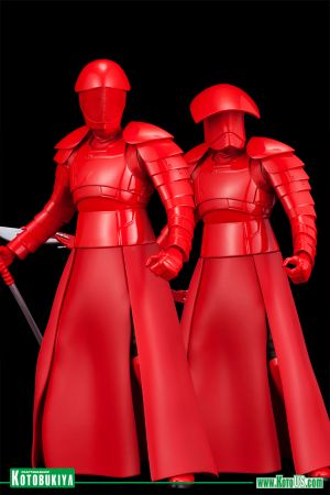 STAR WARS THE LAST JEDI ELITE PRAETORIAN GUARD TWO PACK ARTFX+ STATUE