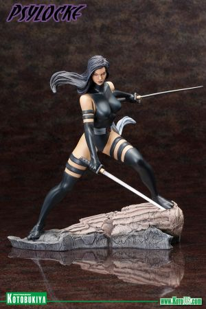 MARVEL COMICS  PSYLOCKE X-FORCE FINE ART STATUE