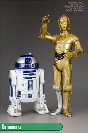 STAR WARS ARTFX+ C-3PO & R2-D2 2 PACK