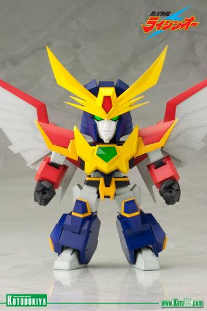 ABSOLUTELY INVINCIBLE RAIJIN-OH ~ RAIJIN-OH D-STYLE MODEL KIT