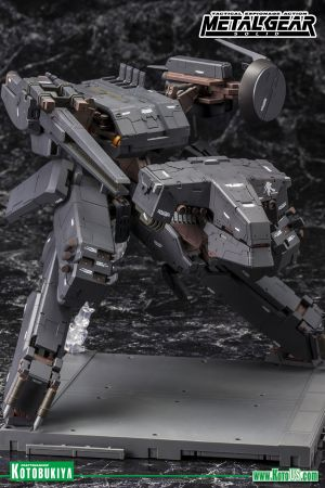 METAL GEAR SOLID METAL GEAR REX BLACK VER  PLASTIC MODEL KIT