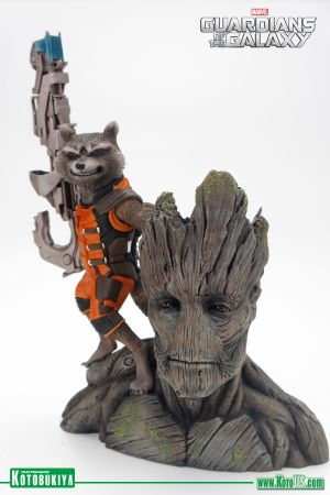 MARVEL GUARDIANS OF THE GALAXY ROCKET RACCOON ARTFX+ STATUE