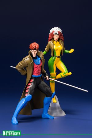 X‐MEN '92 GAMBIT and ROGUE TWO PACK ARTFX+ STATUE