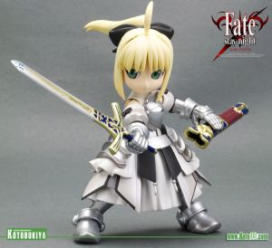 FATE/STAY NIGHT SABER-LILY SAN - PLASTIC MODEL KIT