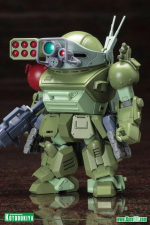 ARMORED TROOPER VOTOMS SCOPEDOG TURBO CUSTOM GREGORE & BYMAN & MURZA VER. D-STYLE PLASTIC MODEL KIT
