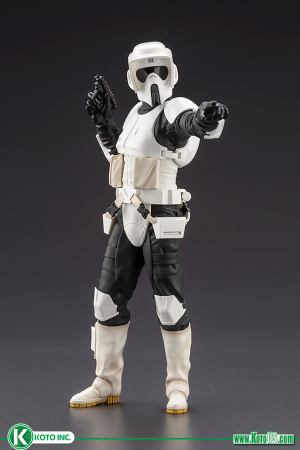 STAR WARS : RETURN OF THE JEDI SCOUT TROOPER ARTFX+