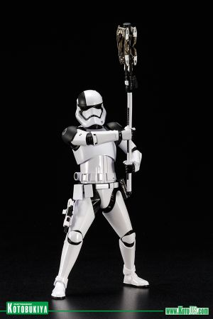 STAR WARS THE LAST JEDI FIRST ORDER STORMTROOPER EXECUTIONER ARTFX+