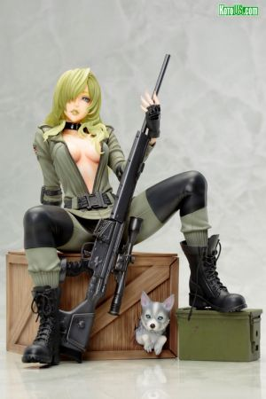 METAL GEAR SOLID SNIPER WOLF BISHOUJO STATUE - RE SOLICITATION [2020]