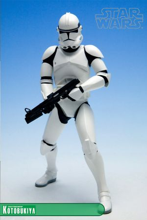 STAR WARS ARTFX+ CLONE TROOPER 2 PACK